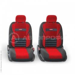 авточехлы ортопедические comfort combo CMB-1105 BK/RD (M)