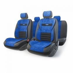 авточехлы ортопедические  multi comfort MLT-1105GV BK/BL (M)