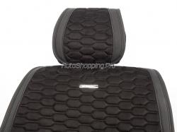 Комплект Накидок «CAPRI PLUS» черный/черный/черный