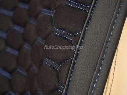 Комплект Накидок «CAPRI PLUS» черный/черный/синий