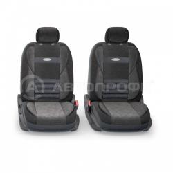 авточехлы ортопедические  multi comfort MLT-1105 BK/BK (M)