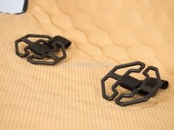 Накидки на перед (2 шт.) «CAPRI» черный/черный/красный