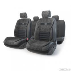 авточехлы ортопедические  multi comfort MLT-1105GV BK/BK (M)