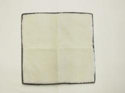 Меховые квадраты из овечьей шерсти, белый