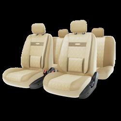 авточехлы ортопедические comfort COM-1105GP L.BE/L.BE (M)