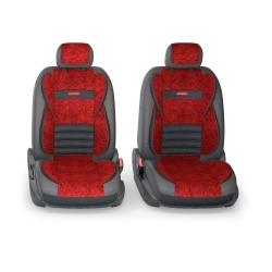 авточехлы ортопедические  multi comfort MLT-1105GV BK/RD (M)