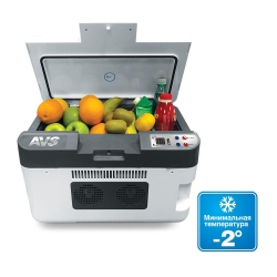 Автомобильный холодильник AVS CC-24WBC. Объем 24л.