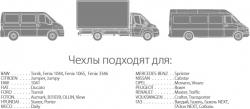 автомобильные чехлы для фургонов TRZ-702 STEEL