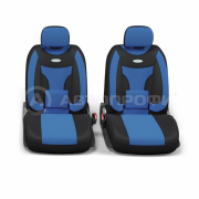 авточехлы ортопедические extra comfort ECO-1105 BK/BL (M)