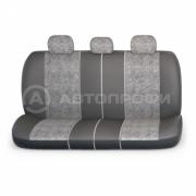 авточехлы ортопедические  multi comfort MLT-1105GV BK/D.GY (M)