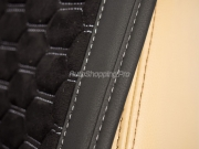 Накидки на перед (2 шт.) «CAPRI» черный/черный/серый