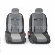 авточехлы ортопедические comfort COM-1105 BK/D.GY (M)
