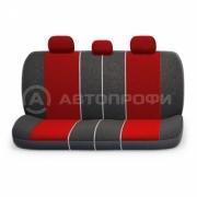 авточехлы ортопедические  multi comfort MLT-1105 BK/RD (M)
