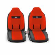 авточехлы ортопедические comfort COM-1105H BK/RD (M)
