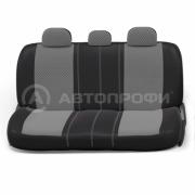 авточехлы ортопедические extra comfort ECO-1105 BK/D.GY (M)