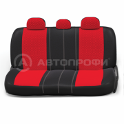 авточехлы ортопедические extra comfort ECO-1105 BK/RD (M)