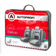 авточехлы ортопедические extra comfort ECO-1105 D.GY/L.GY (M)