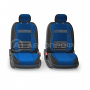 авточехлы ортопедические  multi comfort MLT-1105 BK/BL (M)