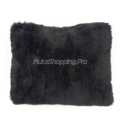 Подушка из овечьей шерсти, черный