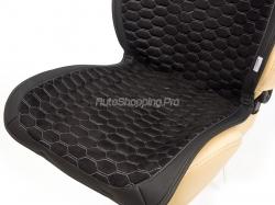 Комплект Накидок «CAPRI PLUS» черный/черный/т.серый