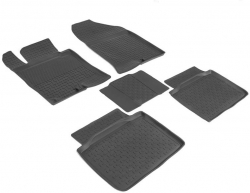 Комплект ковриков KIA OPTIMA III 2010- -  с выс. бор