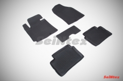Комплект ковриков KIA PICANTO II (2011- -  с выс. бор