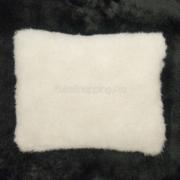 Подушка из овечьей шерсти, белый