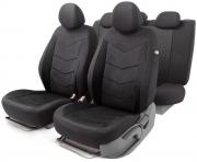 Автомобильные чехлы AEROBOOST, сетчатая ткань, черный