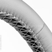 Оплетка для перетяжки руля (натуральная кожа)