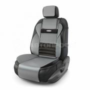 Накидка на сиденье MULTI COMFORT - экокожа / серый