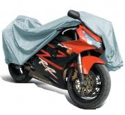 "Защитный чехол-тент на мотоцикл ""М"" 203х89х119см"