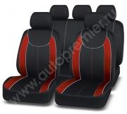 Чехлы  «ESCADA» чёрный/красный