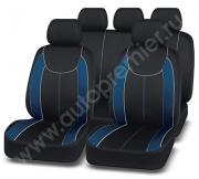 Чехлы  «ESCADA» чёрный/синий