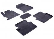 Комплект ковриков HONDA 4D 2012- с выс. бор