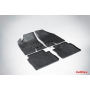 Комплект ковриков HYUNDAI SANTA FE III 2012 г -с выс. бор