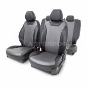 Чехлы на сиденья модельные экокожа KIA Ceed-2 (2012+)